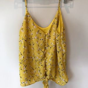 3/$25 Yellow tank top size/s